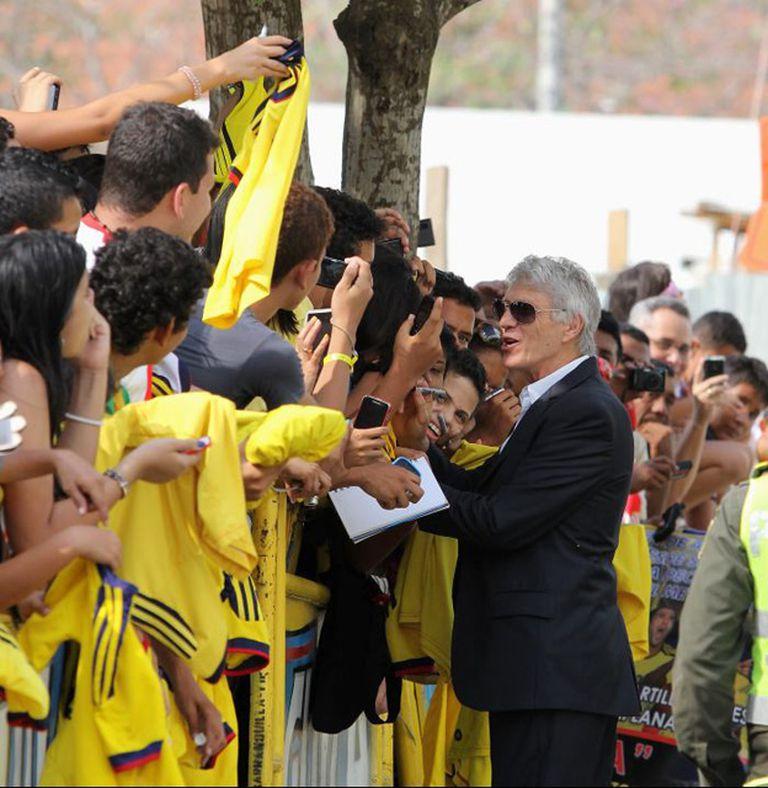 José Pekerman y su relación idílica con los hinchas colombianos