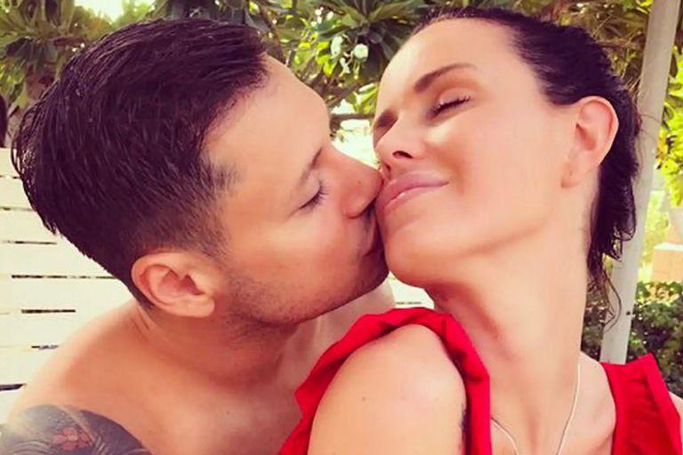 El gesto de Natalie Weber y Mauro Zárate que desató rumores de ruptura