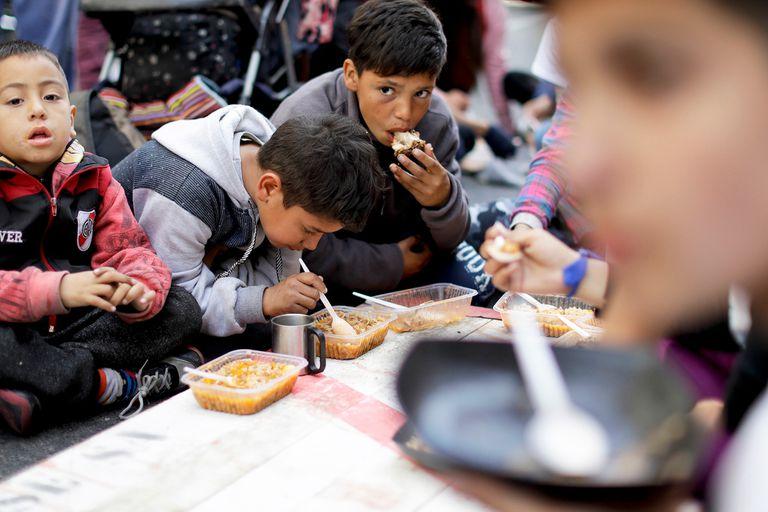 La campaña contra el hambre es uno de los ejes del gobierno de Alberto Fernández.
