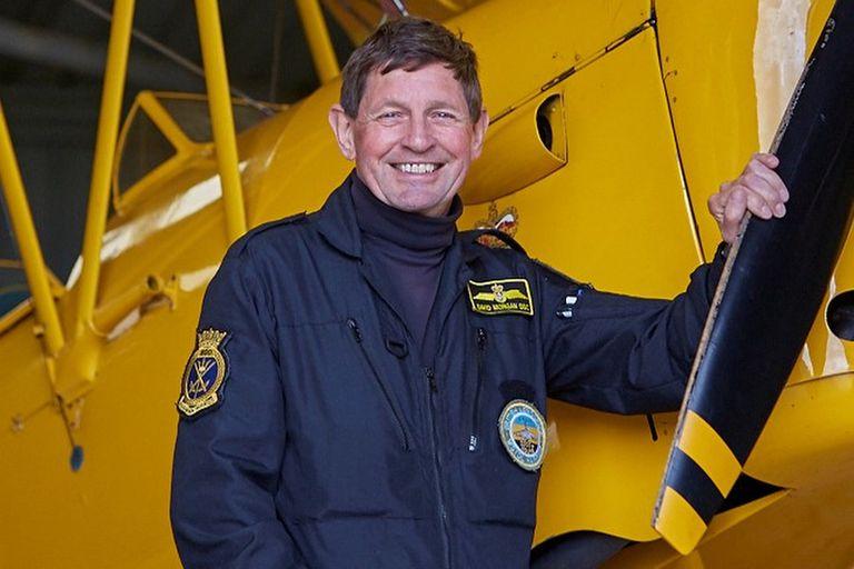 David Morgan, el as de la aviación británica que se acercó a los pilotos argentinos