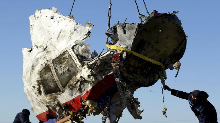 El avión fue derribado el 17 de julio de 2014
