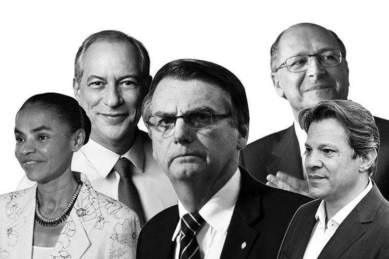Los candidatos de Brasil