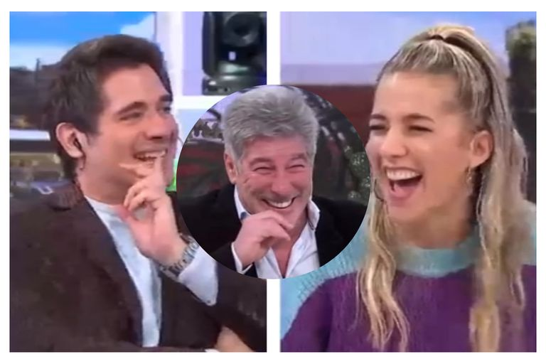 Pachu Peña estuvo invitado en el programa de Guillermo Andino y Soledad Fandiño: no pudo contener la risa y todos estallaron tentados en vivo