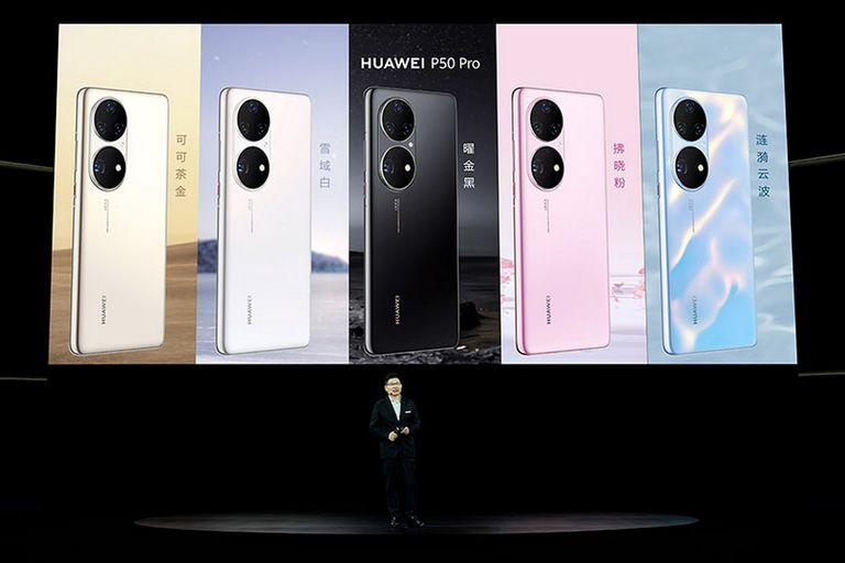 Huawei presenta sus teléfonos P50 Series con HarmonyOS