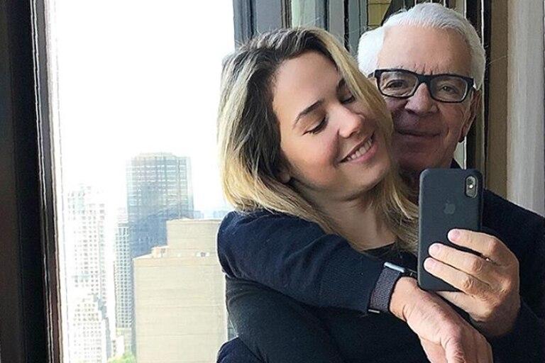 Cumplió 30: el emotivo saludo de Eduardo Costantini a Elina Fernández en su día