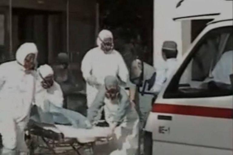 Hisashi Ouchi y los otros dos operarios que estaban cerca de la pileta para producir combustible nuclear cuando ocurrió el accidente fueron retirados del lugar por personal especializado