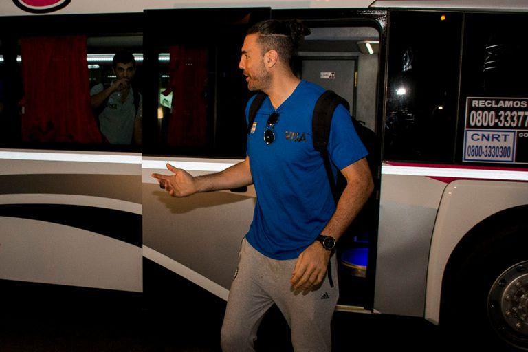 El seleccionado argentino llegó a Olavarría para los encuentros de eliminatorias