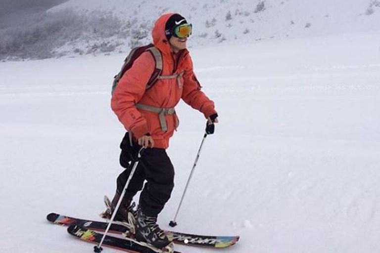 Quién era Martín Rossi, el joven esquiador de Bariloche que murió en La Hoya