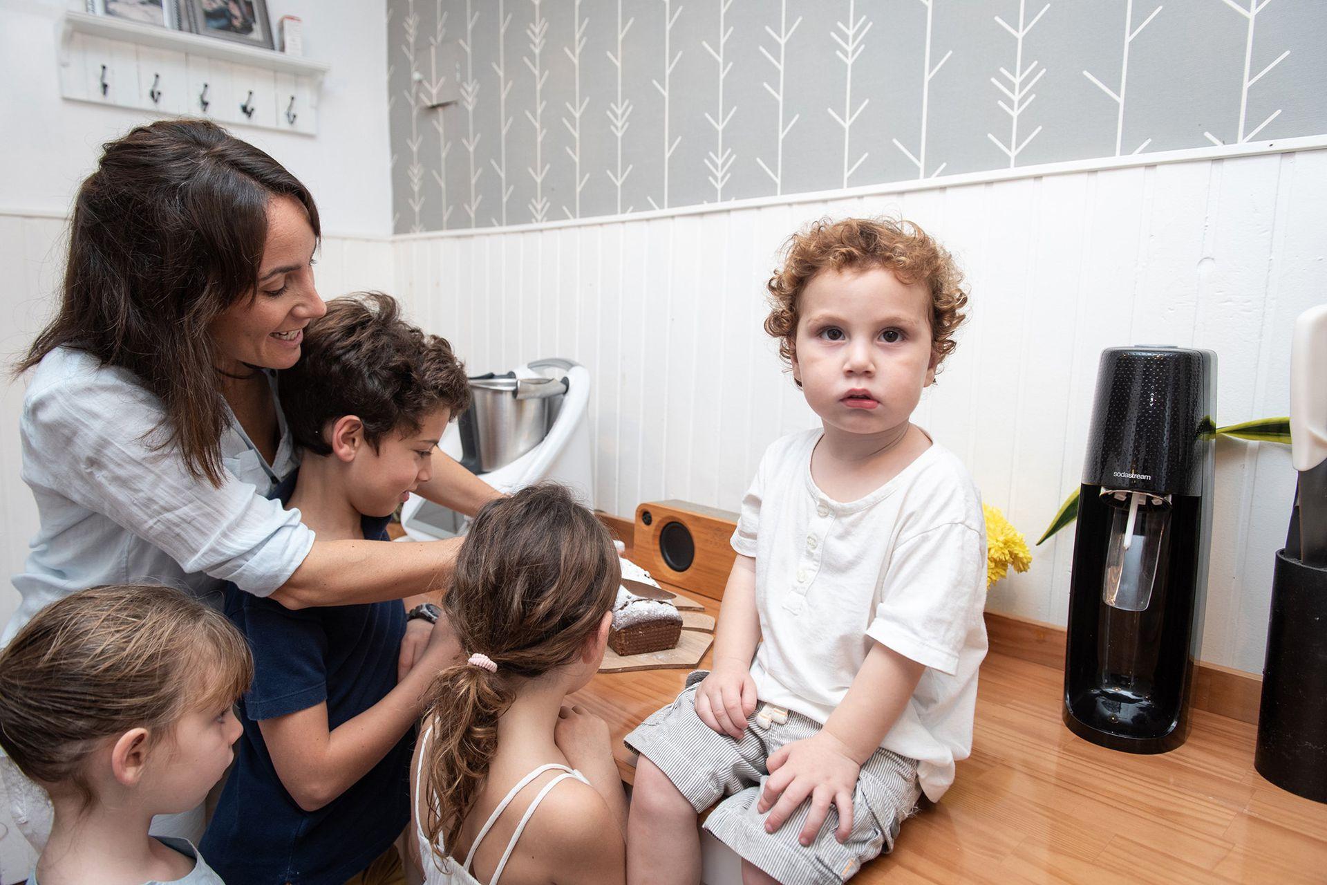 En plena pandemia, Sofia Bacigalupo invirtió en una Thermomix para cocinar para toda su familia