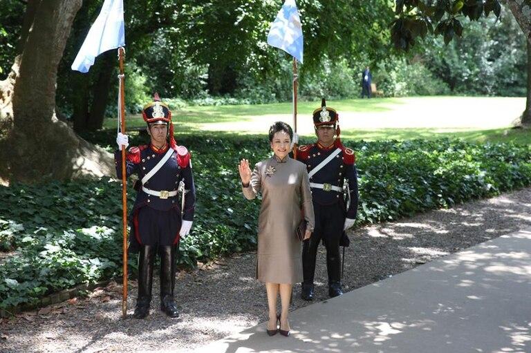 Peng Liyuan, primera dama China, es una cantante muy popular en su país.