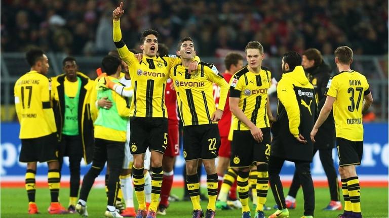 Borussia se quedó con el clásico ante Bayern Munich