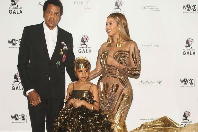 Con solo 7 años, la hija de Beyoncé ganó su primer premio como compositora