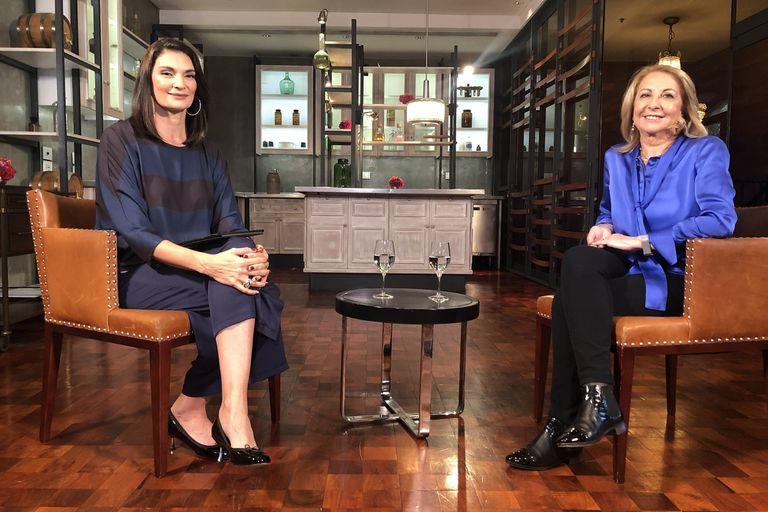 "Mariana Arias recibió a Susana Balbo en su programa ""Como Mujer"""