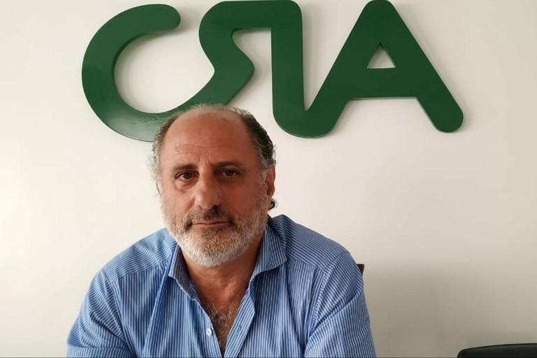 Jorge Chemes, presidente de CRA