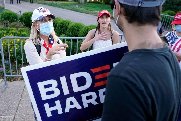 Las diferencias de Biden en los sondeos son considerables, aunque no irremontables en cuanto a los electores del Colegio Electoral