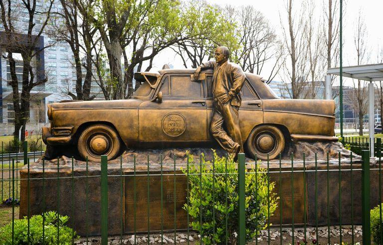 La escultura se encuentra en Puerto Madero. Fuente: Archivo.