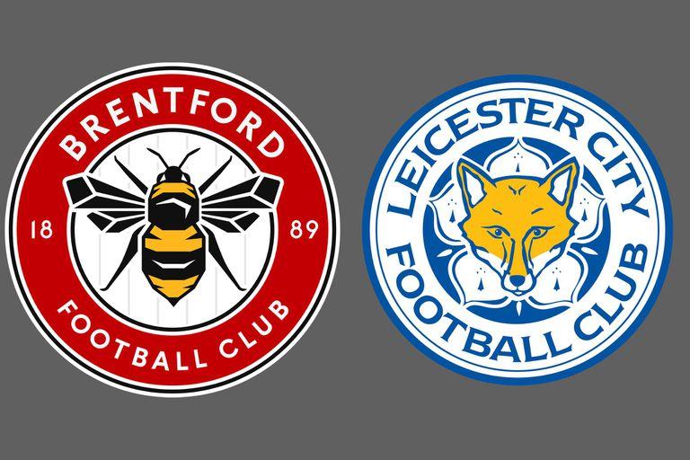 Leicester City venció por 2-1 a Brentford como visitante en la Premier League