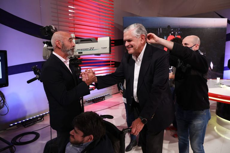 Gómez Centurión y López Murphy en el programa A Dos Voces