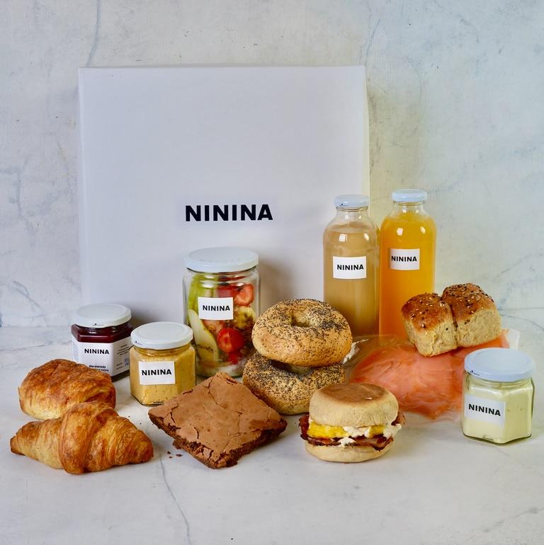 Ninina propone un brunchbox para compartir.