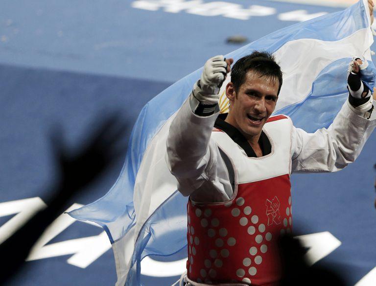 Sebastian Crismanich, heróica actuación en Londres 2012 con el primer oro en taekwondo