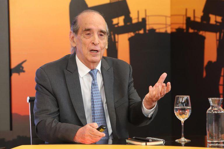 Ricardo Arriazu, economista, en el encuentro sobre Vaca Muerta, organizado por LA NACION