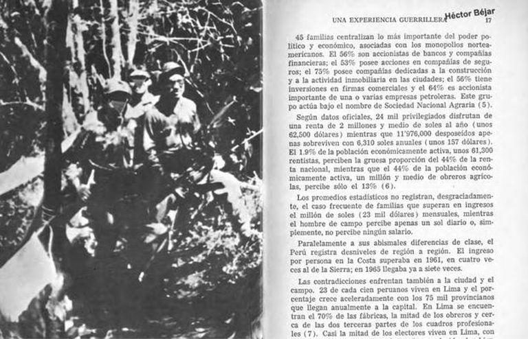 Fragmento del libro de Héctor Béjar