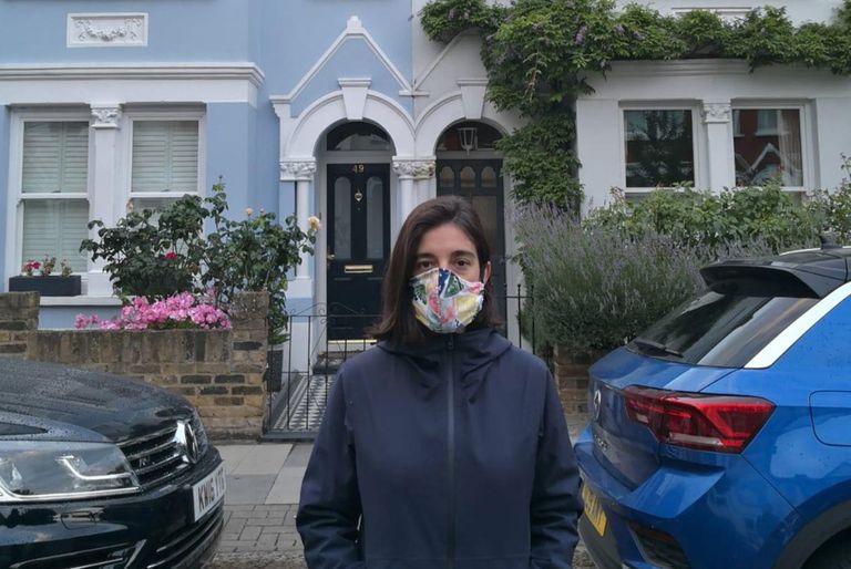 Agustina Fernández comenzó a sentirse mal el 11 de marzo