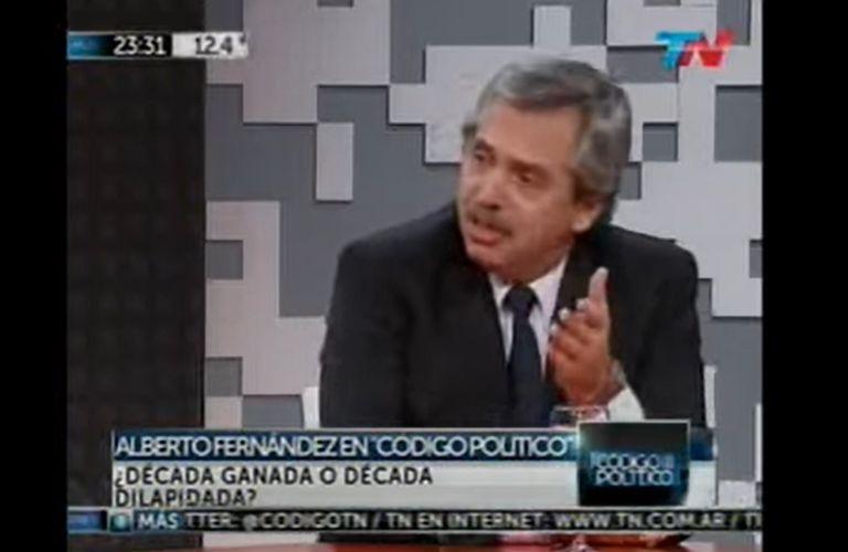 Así criticaba en 2013 Fernández el control de precios que hacía La Cámpora