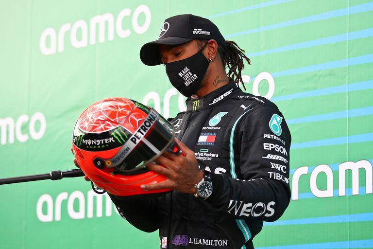 """Una locura"": así vivió Hamilton el reemplazo de Schumacher en Mercedes"