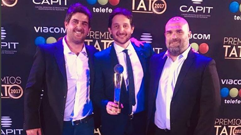 NET se alzó con el Tato 2017 en el rubro Entretenimiento / Late Night en Cable