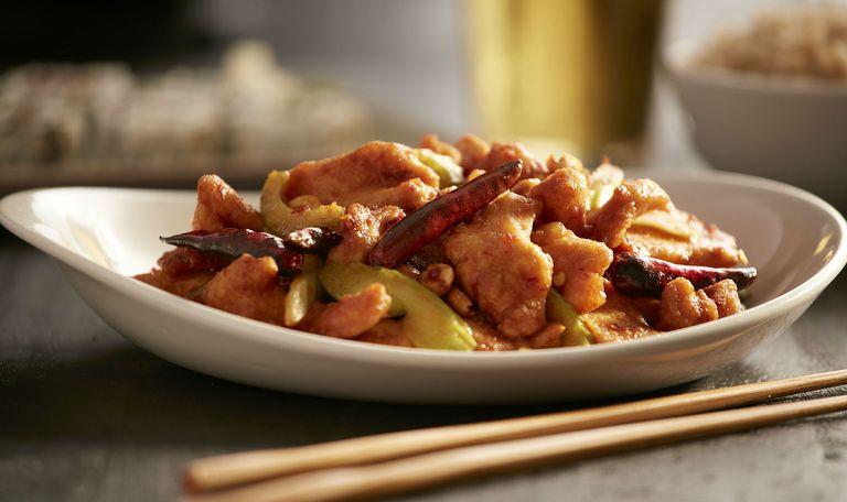 Pollo frito Kung Fao