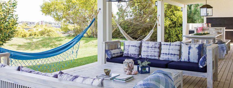 Galerías en azul. El color plácido y de moda para un espacio esencial de la casa