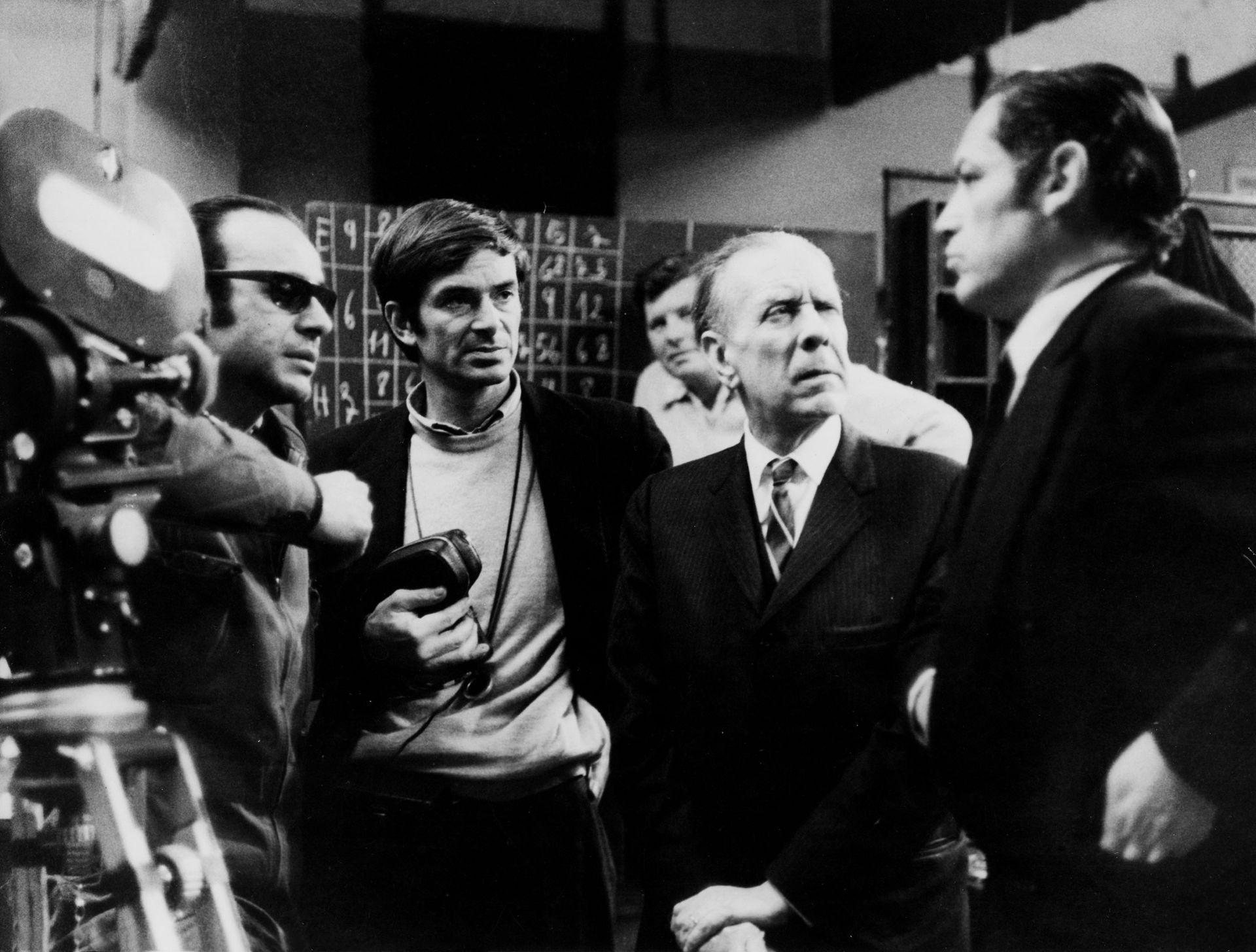 El rodaje de Invasión (1969), con guion de Jorge Luis Borges y Adolfo Bioy Casares, y dirección de Hugo Santiago