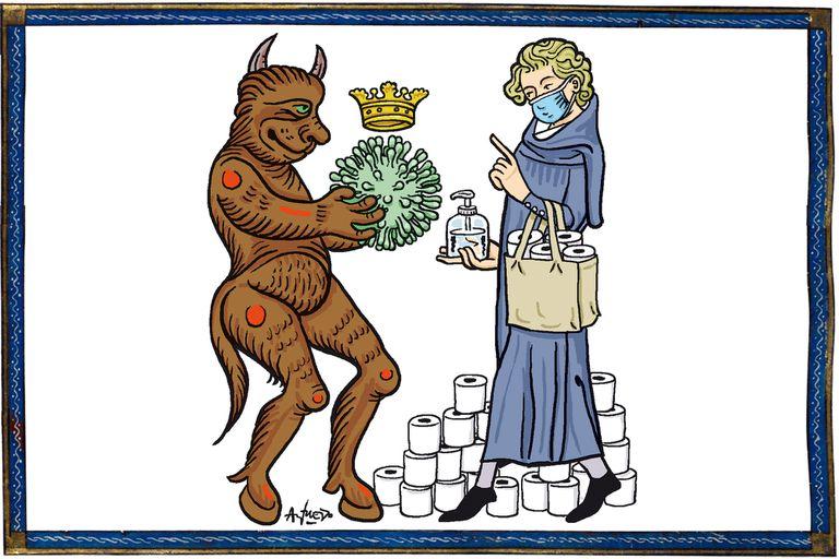 El Coronavirus, un regreso a la Edad Media