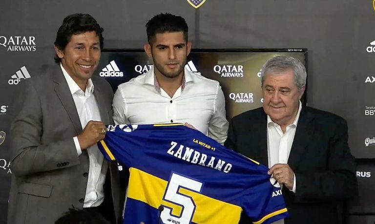 Indagarán al defensor de Boca Juniors Carlos Zambrano por arrollar a un motociclista