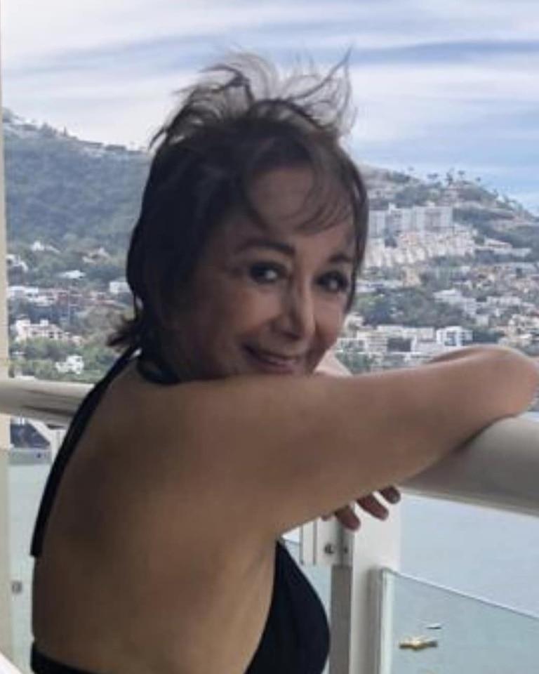 La actriz publicó una imagen donde se la puede ver relajada frente a un paisaje de un balneario