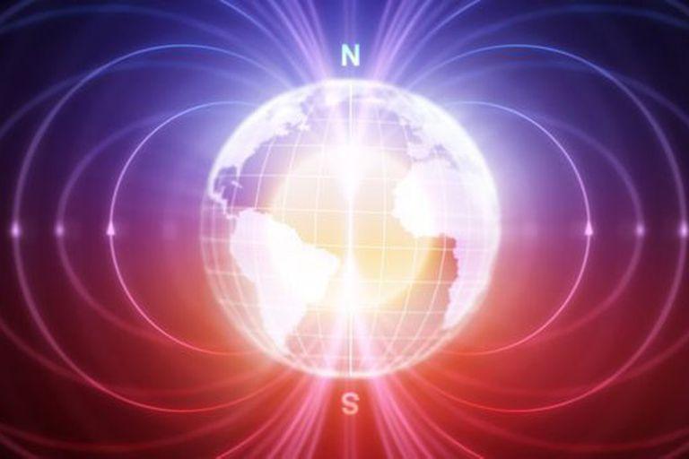 El campo magnético de la Tierra está cambiando rápidamente.