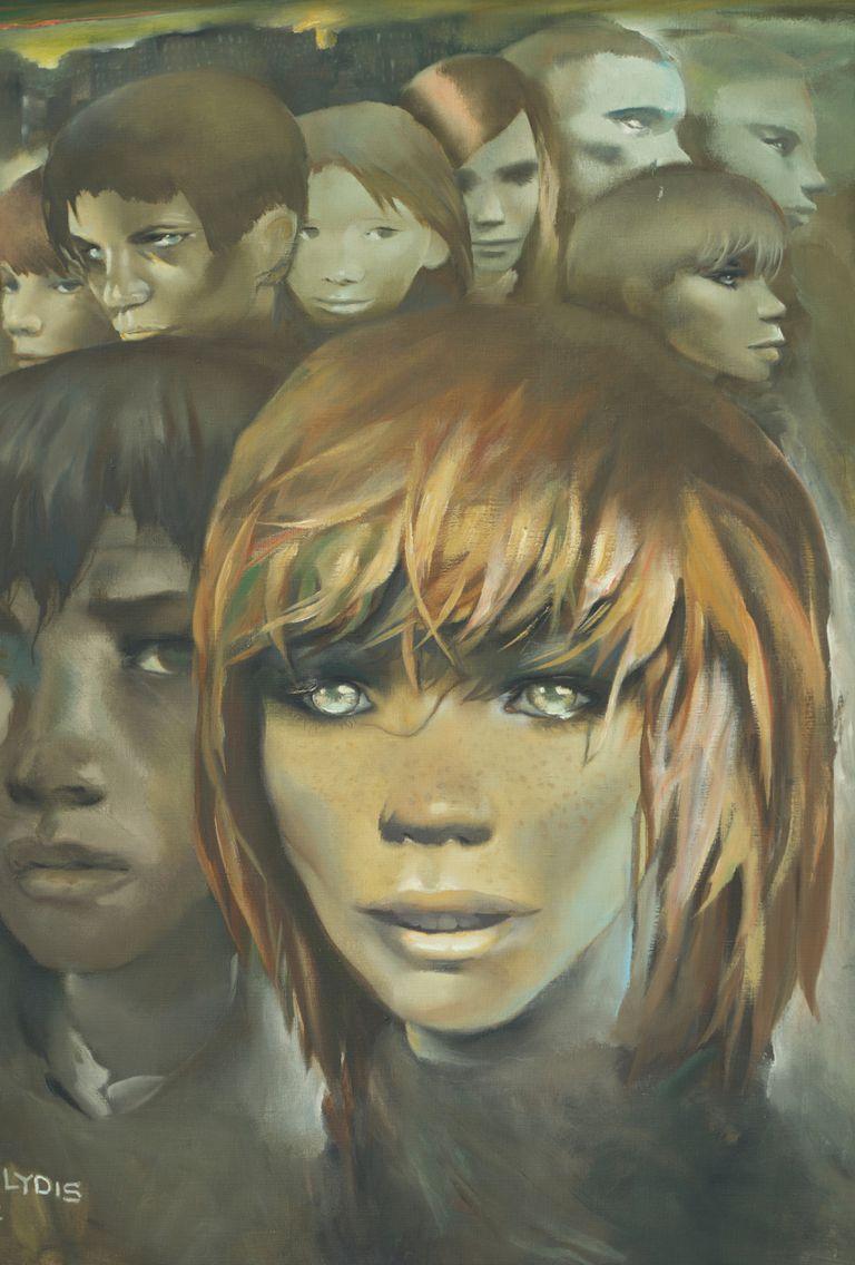 """Detalle de """"A do´nde Van"""", 1967. O´leo sobre tela. Coleccio´n Si´vori"""