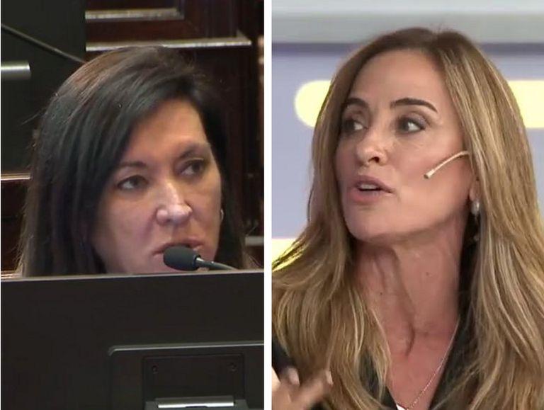 La funcionaria oficialista Victoria Tolosa Paz se enfrentó con la senadora Laura Rodríguez Machado en un tenso debate
