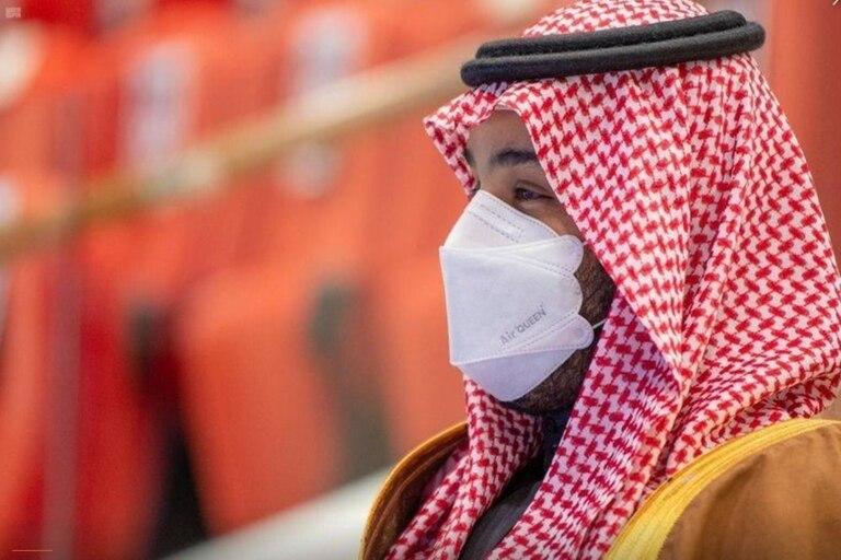 El príncipe saudí Mohammed Ben Salman