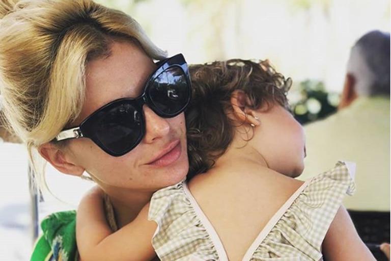 Eugenia la China Suárez y la tierna foto de su hija Magnolia con el hijo mayor de Pampita Ardohain