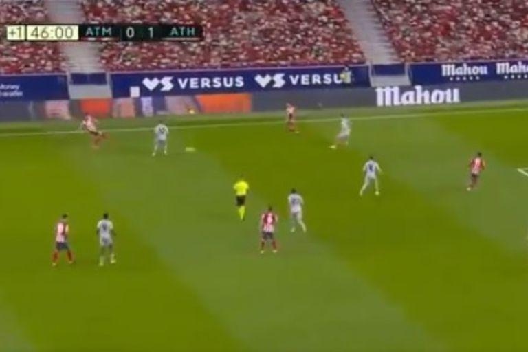 Con polémica. Un gol fuera de tiempo en el triunfo de Atlético de Madrid