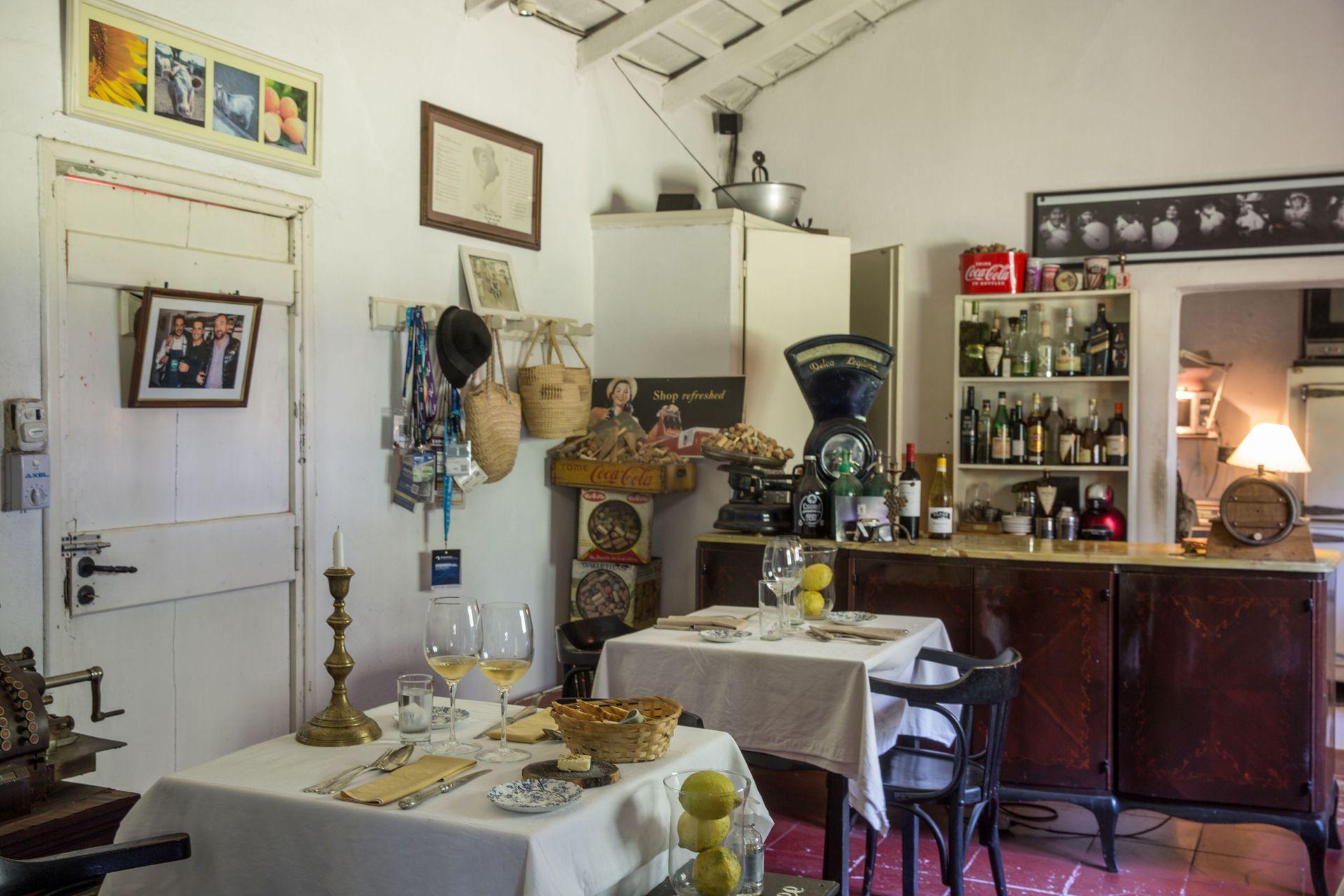 El salón de La Torgnole Gastronomique.