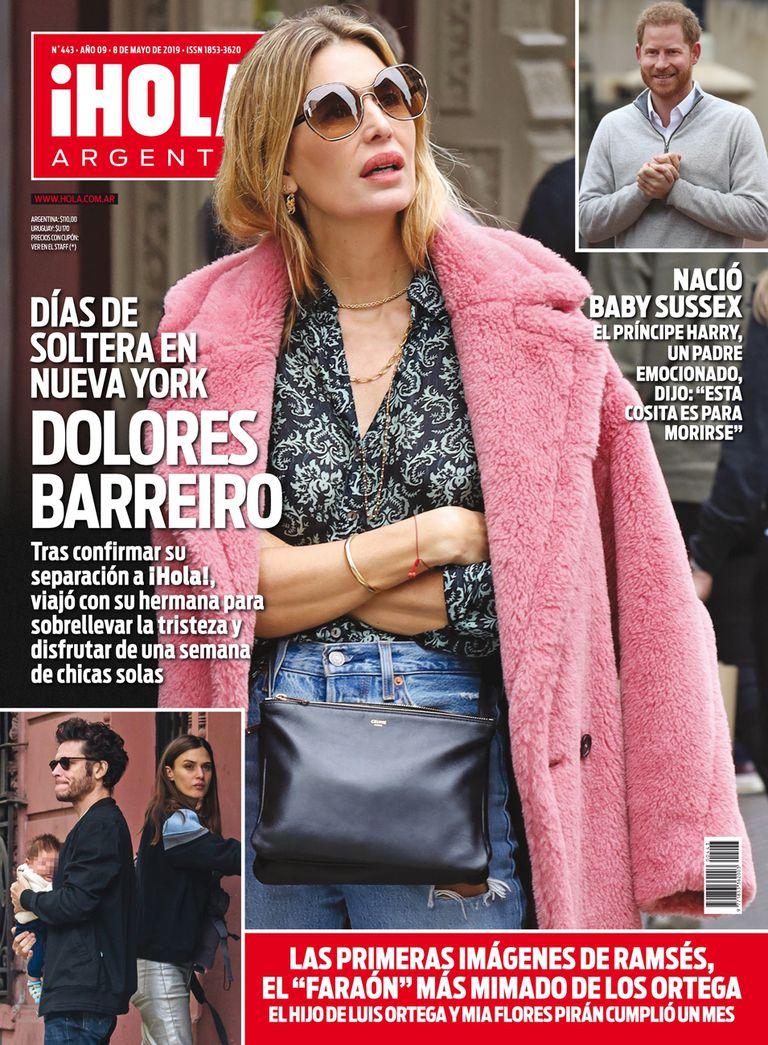 La tapa de la revista ¡Hola! Argentina de esta semana