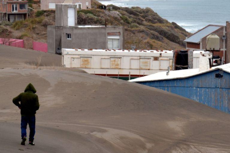 En esta playa de Río Negro, solo seis habitantes estables permanecen allí todo el año