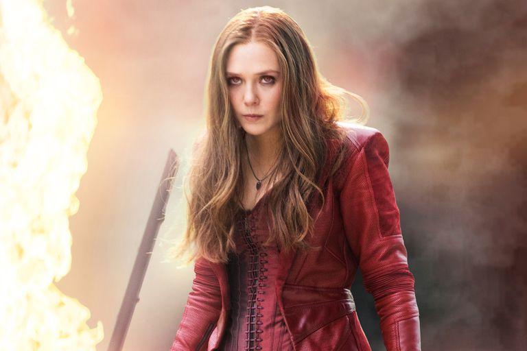 Elizabeth Olsen como Wanda Maximoff en Avengers 2