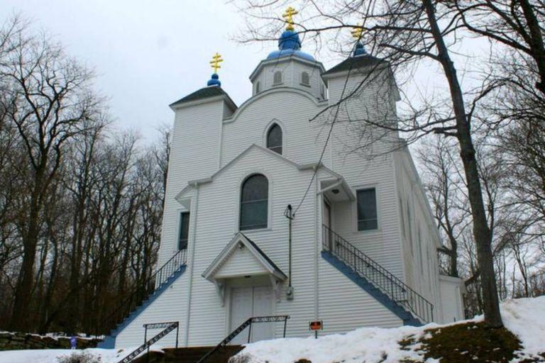 La Iglesia Católica Ucraniana todavía está activa y a ella acuden cada domingo antiguos vecinos de Centralia que todavía habitan cerca del pueblo