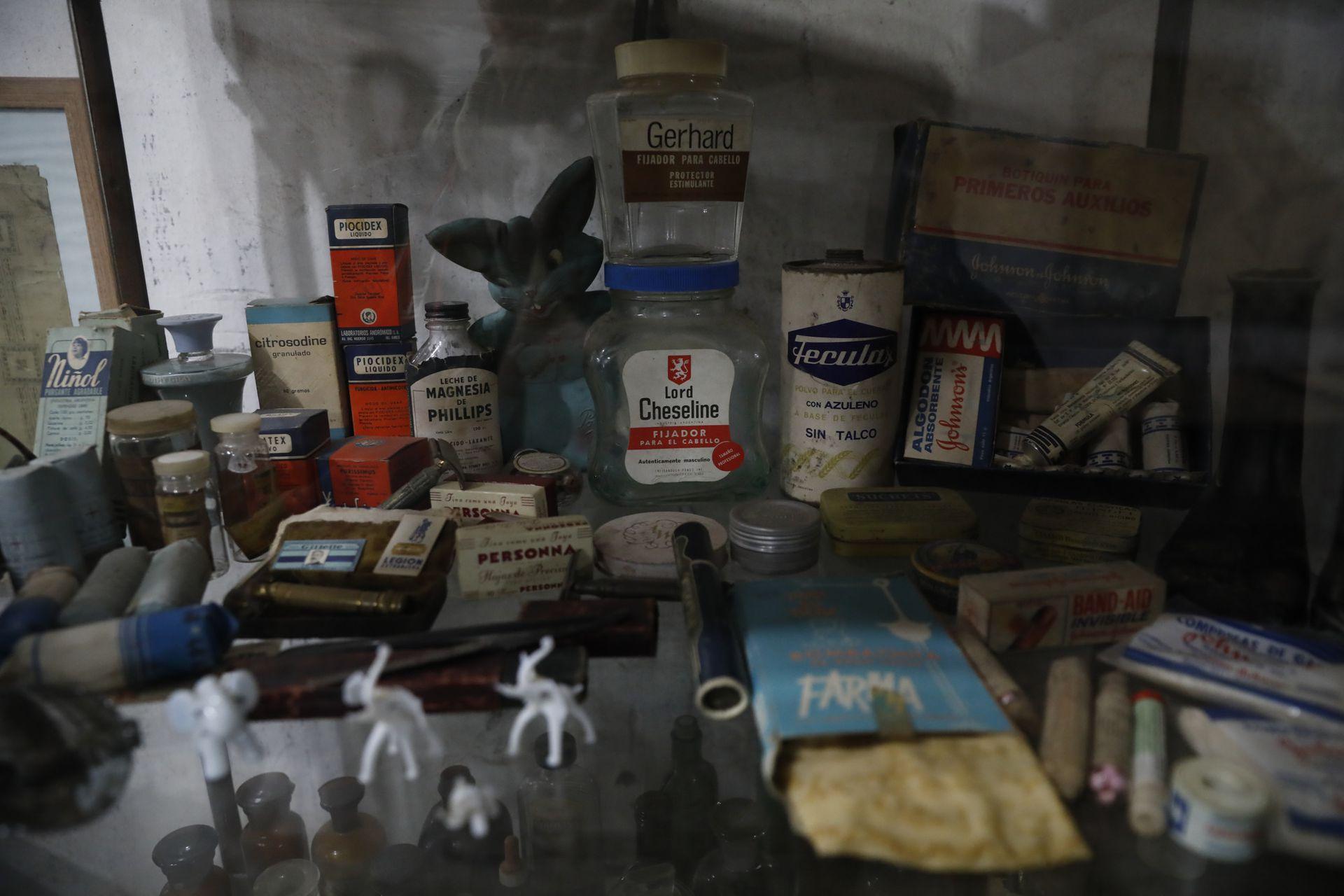 La pulpería conserva muchos objetos antiguos