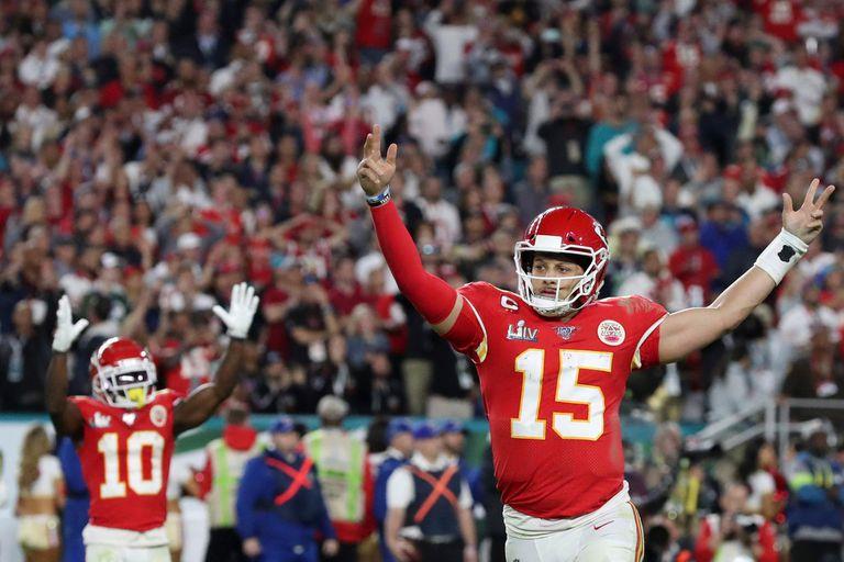 Patrick Mahomes de Kansas City Chiefs