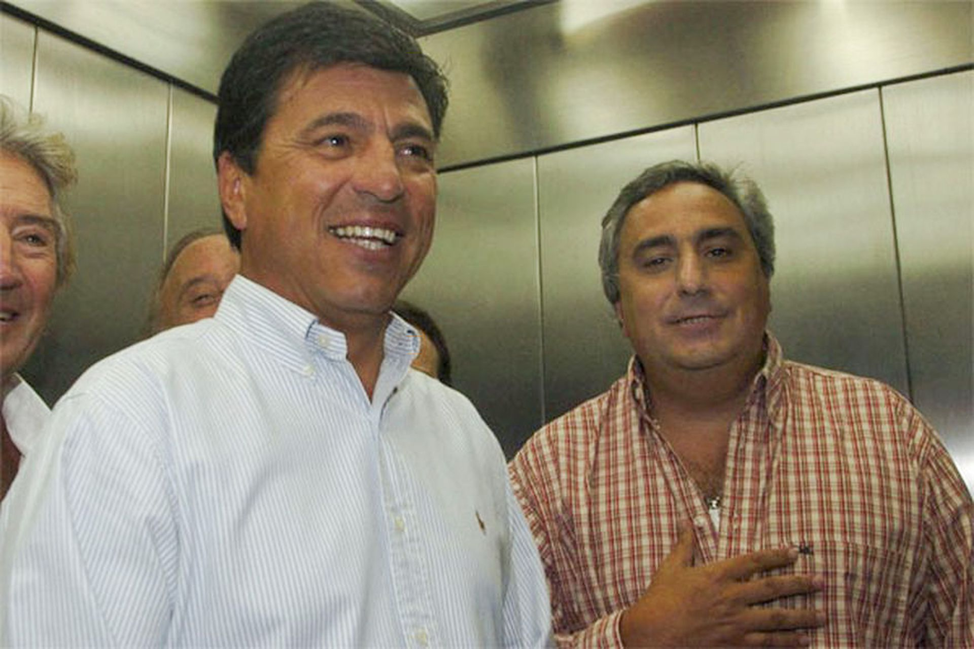 Passarella y Aguilar fueron los dos últimos presidentes de River antes del descenso